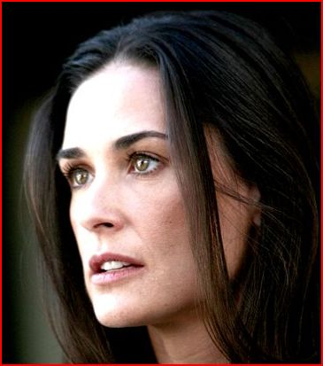 Demi Moore at middle age as she casting Mr Brooks 2007.