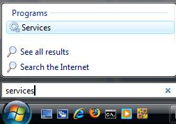 Besides the new Windows Start button, Windows Vista search box is also a new and smart searching feature. As user typing the program name, Windows Vista search box will display the most matching program in the search program list.