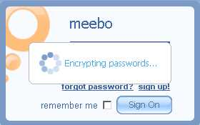 Using Meebo as single master proxy to conveniently accessing all the popular IM tools at one time!