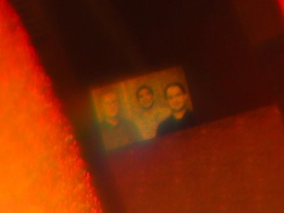 Hardware-based Easter Egg of Microsoft product - A microscopic photograph of the men found on some Windows Vista Business edition DVD.