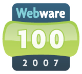 The first user-nominated winners of the Top 100 Webware Awards is finally confirmed and published. Most of these webware are web 2.0 compliance!