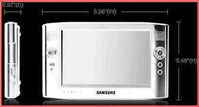 If price is not a factor of purchasing, Samsung Q1P SSD UMPC is attractive than a mobile DVD, as it is built with Tablet PC or Laptop computer functionalities and 32GB SSD mechanical-free hard disk.