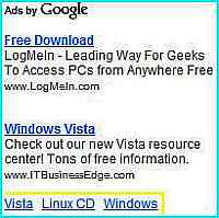 Is this new Adsense 2-in-1 Ad Unit that includes the Link Unit ads?