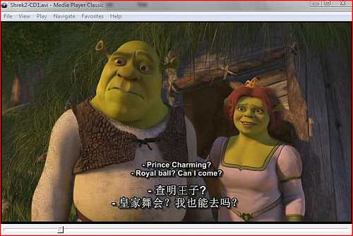 It is possible to display up to two movie subtitles in Media Player Classic with Storm Codec installed.