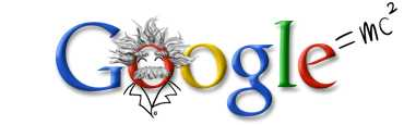 Google Logo for Albert Einstein Birthday - March 14, 2003