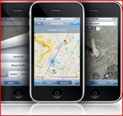 Apple iPhone 3G includes wonderful GPS features