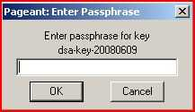 Windows ssh-agent called Pageant.exe, a Putty suite program.