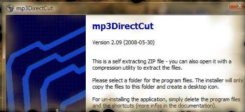 mp3DirectCut - a tiny, standalone MP3 cutter freeware that someone can use to cut a MP3 file for ringtone.