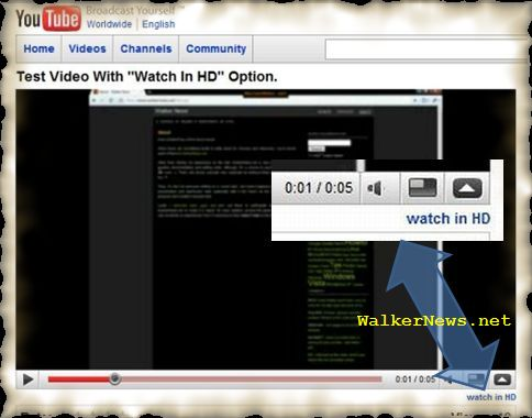 How to create a true HD video that YouTube recognize as high definition video?