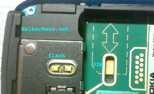 Nokia 5800 XpressMusic defect - could be difficult for some user to insert and remove SIM card.