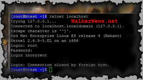 How to enable root user login to telnet server directly in Red Hat Linux system?