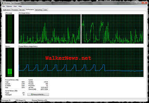 How to diagnose this Windows 7 memory usage?