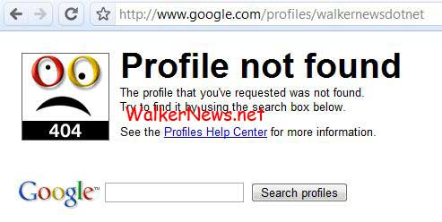 Google Profiles page is not accessible by public until the profile page indexed by Google Search.