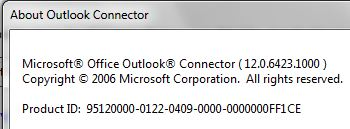 Access Hotmail from Outlook 2007 via Outlook Connector freeware.