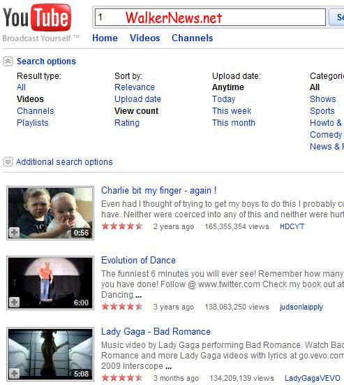 New trick to search top video on YouTube?