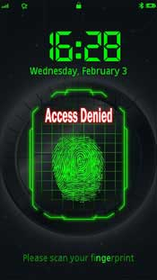 FingerPrint apps to unlock Nokia 5800, N97, X6, etc.