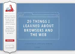 Free e-book to learn about web browsers and the Web.