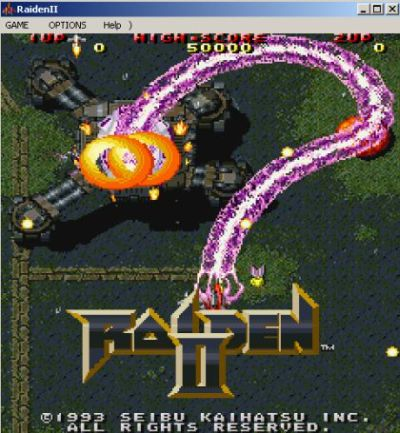 Raiden II Arcade Game