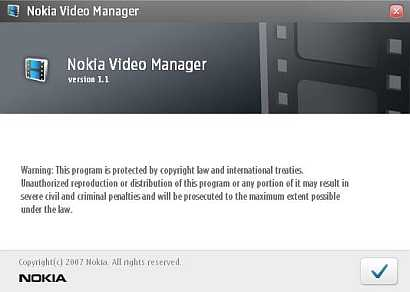 Nokia Video Manager is video converter freeware, available for download from Nokia official website. Nokia Video Converter v1.1 convert AVI, MPG, MPEG, MOV, WMV, etc, video file format into MP4 format (which is optimized to play on Nokia Smartphone).