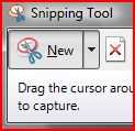 Windows Vista Ultimate comes with a tiny screen-capture program called Snipping Tool, that allows users to capture irregular or free-form style of screen shots.