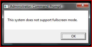 How to enable full-screen Command Prompt window in Windows Vista? Windows Vista Command Prompt does not support full-screen Command Prompt window.