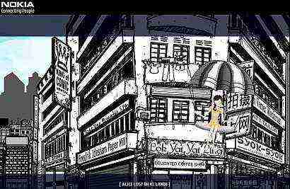 Enjoy Alice Lost In KL Land flash game and win a Nokia 6110 Navigator - the first Nokia Smartphone with A-GPS enabled feature.