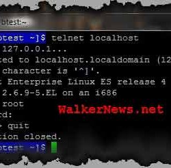 How To Quit From Telnet Login Prompt Immediately? – Walker News