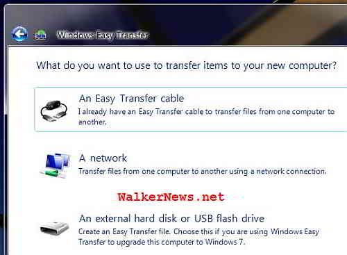 How to import or restore MIG file or Windows Easy Transfer file?