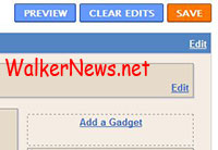 Using Blogger Gadget to add features on blog running by Blogger.